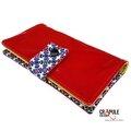 portefeuille marcius vinyle rouge brillant rabat fleurbleu 2600 600 1