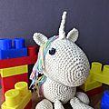 Crochet : licorne home made : [termine] concours, célénaa a 5 ans!!!
