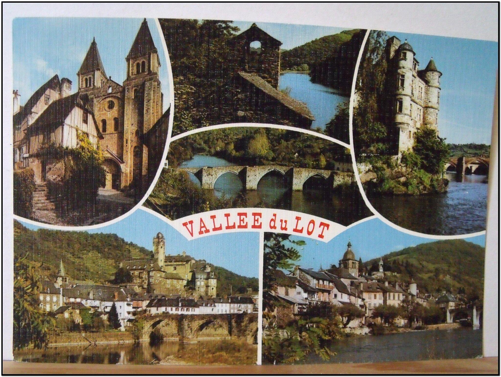 Vallée du Lot - datée 1991