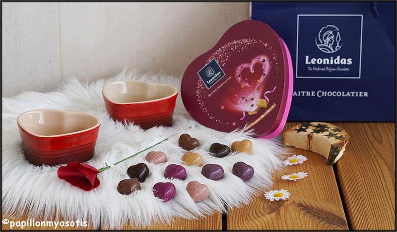 Chocolats Leonidas Saint Valentin 2020