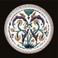 An iznik polychrome dish, turkey, circa 1570-1580