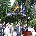 Inauguration Promenade de Hennef au Pecq - 2011-05