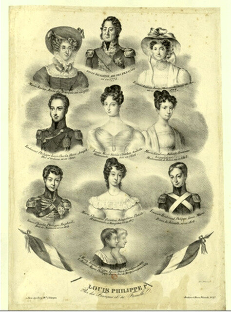 Louis Philippe et sa famille