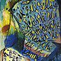 COBRA 1948 Peinture-mots_Jorn et Dotremont