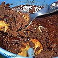 Mug-cake au chocolat et creme de speculoos