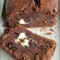 Cake chocolat blanc et noir