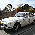 MG B GT coupé découvrable 1974 Offenheim (1)