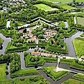 Fort-bourtange, pays-bas