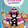 0 193 Le Chat botté (ou presque) ED. Nathan