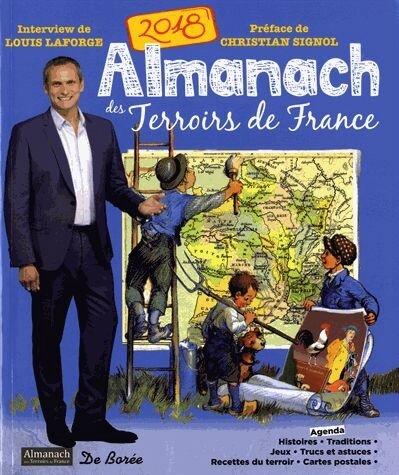 ALMANACH DES TERROIRS DE FRANCE - EDITIONS DE BOREE 2018