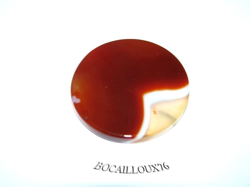 AGATE Orange Disque 4 (4)