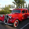 CITROËN Traction Avant 11B voiture de pompiers 1956 Créhange (1)