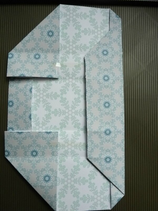 no cut folded gift box 020