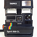 Collection ... appareil photo polaroid * spirit 600 cl
