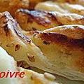 Tortillons au roquefort.