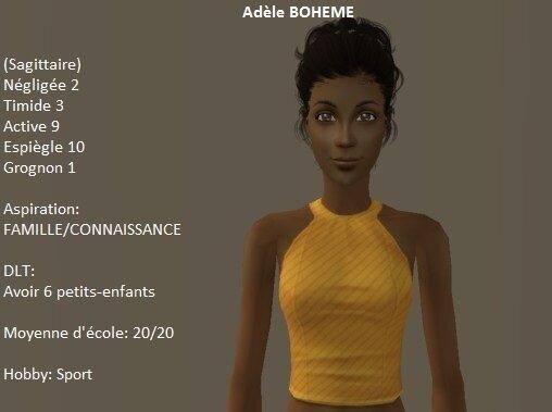 Adèle Bohème