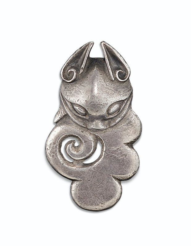 2019_NYR_18338_0536_000(an_unusual_and_rare_silver_ornament_northwest_china_4th-3rd_century_bc)
