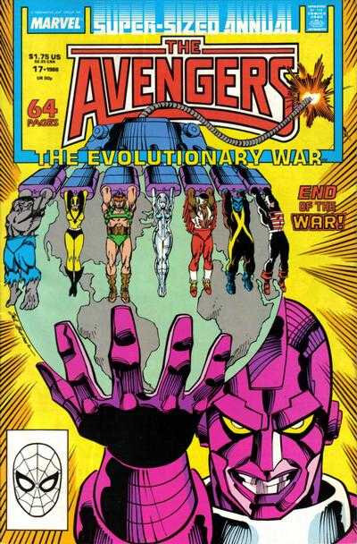 avengers 1963 annual 17 1988 the evolutionary war