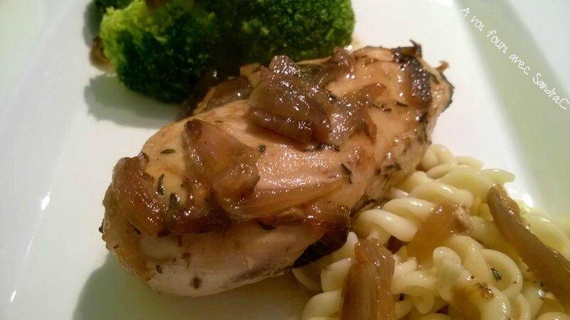 poulet au fond de vollaille 1