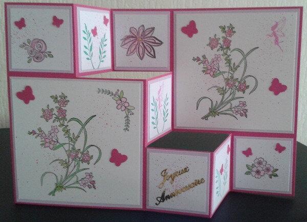 Carte accordéon