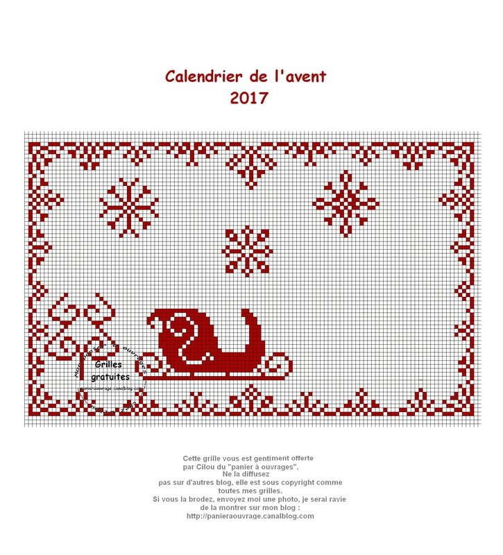 calendrier avent 2017 18