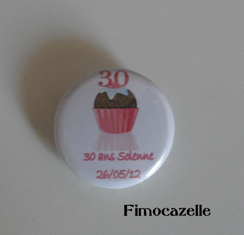 badge 30 ans solenne