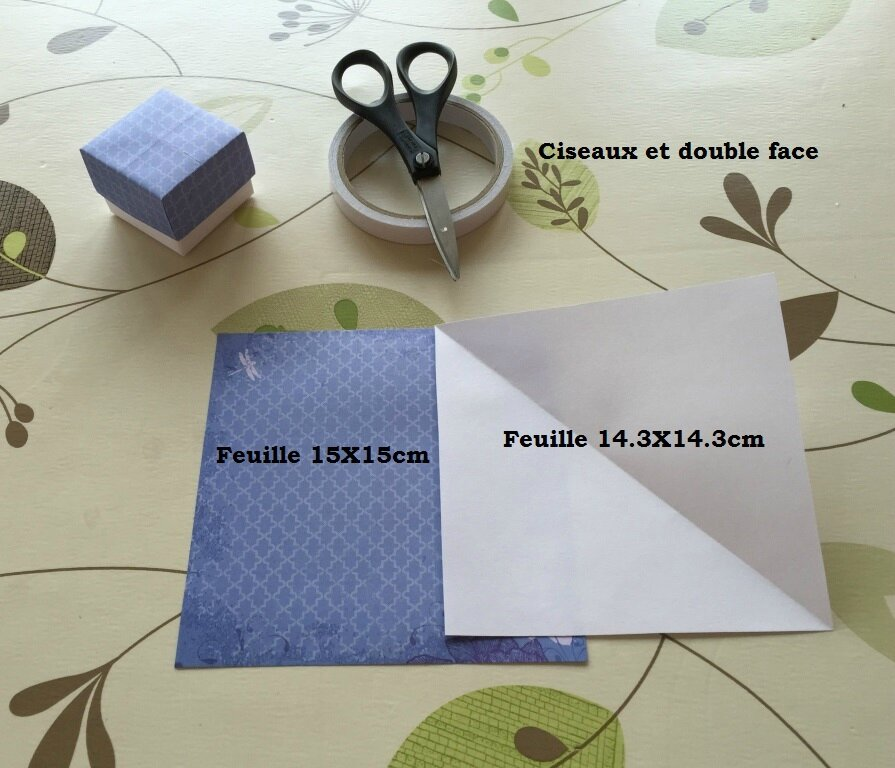 Tuto De La Petite Boite En Origami Arielle Créa Loisirs Créations