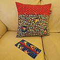 Coussin super heros 1