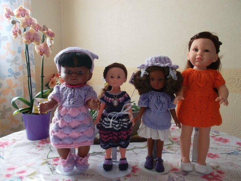 Samantha, Lila, Belle, Johanna 2