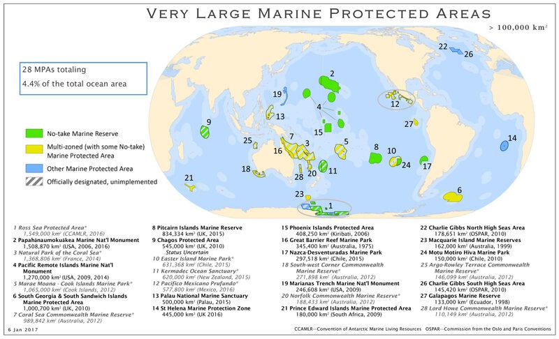 Les grandes aires marines protégées Marine_protected_areas_detailed_map (author MPAtlas