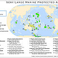 Les grandes aires marines protégées - very large marine protected areas