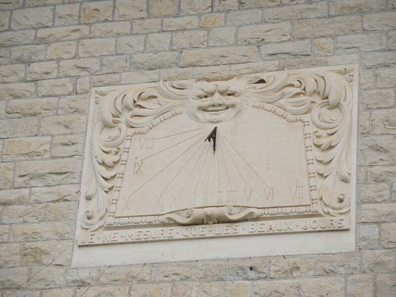 Cambo-les-Bains, Villa Arnaga, cadran solaire (64)