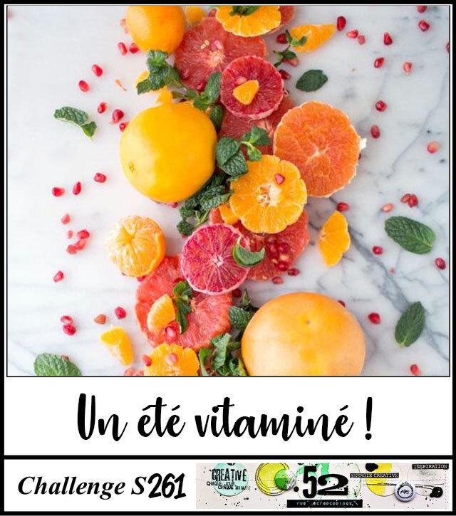 Challenge S 261 : Un été vitaminé !