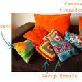 Coussin kitch