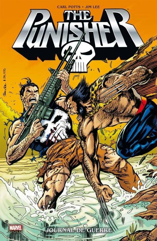 best of marvel punisher journal de guerre