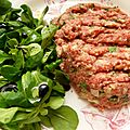 Steak tartare comme au bistrot