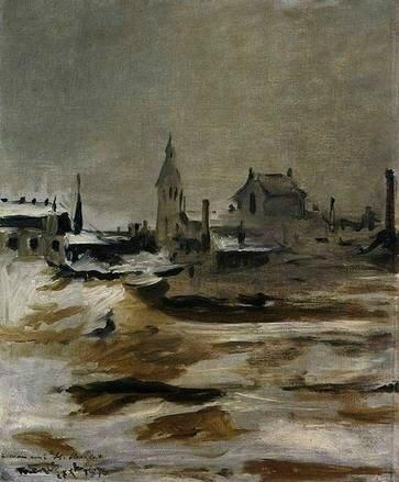 Manet, Effet de neige à Petit-Monrouge