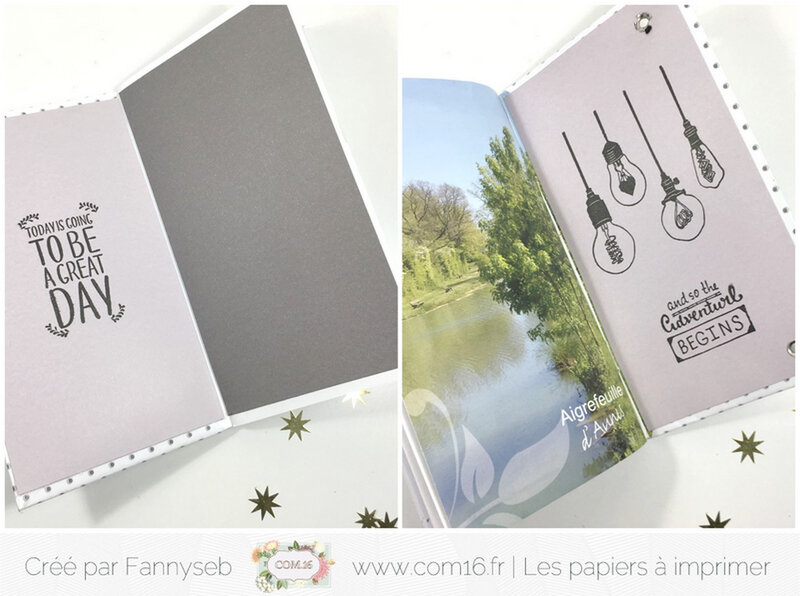 agenda fannyseb 3 collection ambre Papiers COM16