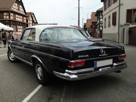 MERCEDES BENZ 300 SE Coupe W112 1964 Lipsheim Retro 2010 3