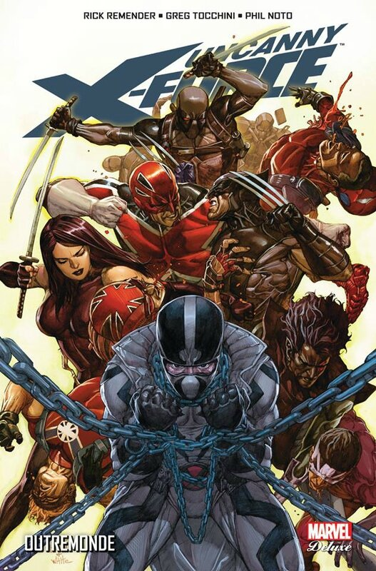 marvel deluxe uncanny x-force 3 outremonde