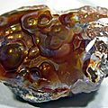 Agate feu ( 5 photos )