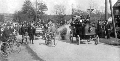 1897 coventry-birmingham - de dion-bouton steam carriage, right