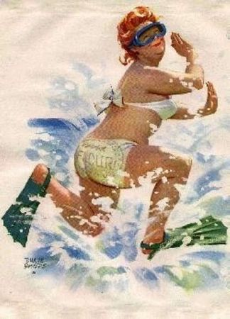 Hilda_bain_mer_cours
