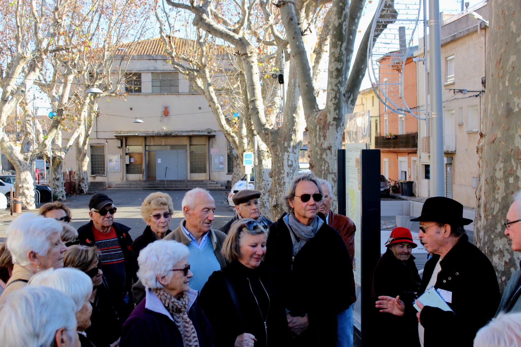 """Visite de Bessan par l'Association """"Marseillan Patrimoine Environnement"""""""