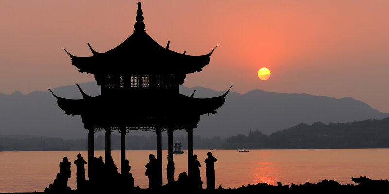China-sunset