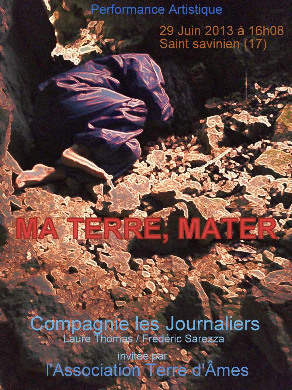 fly MA TERRE, MATER recto