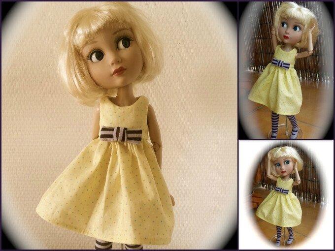 Marilou et sa nouvelle robe