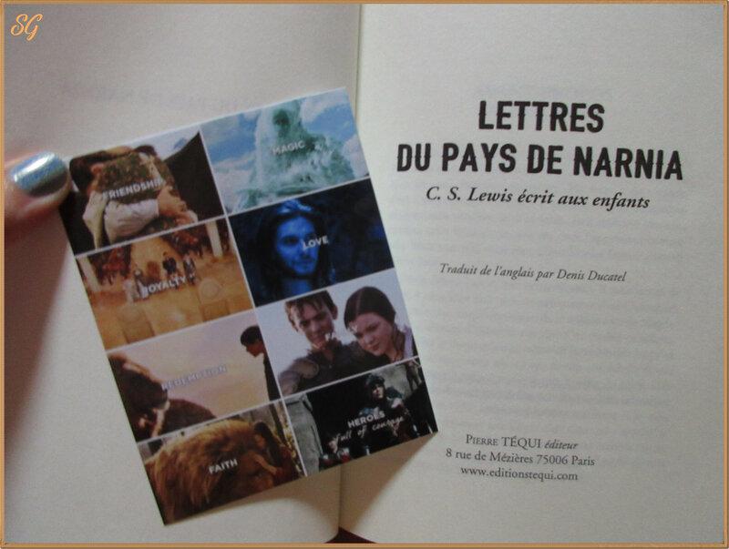 lettres de narnia (1)