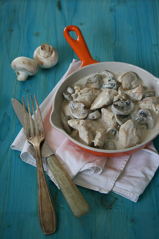 Poulet à la normande Passion culinaire Minouchka copie