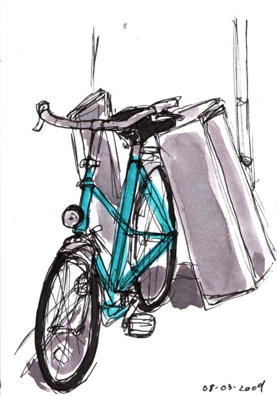 Le vélo de Marie Thérèse
